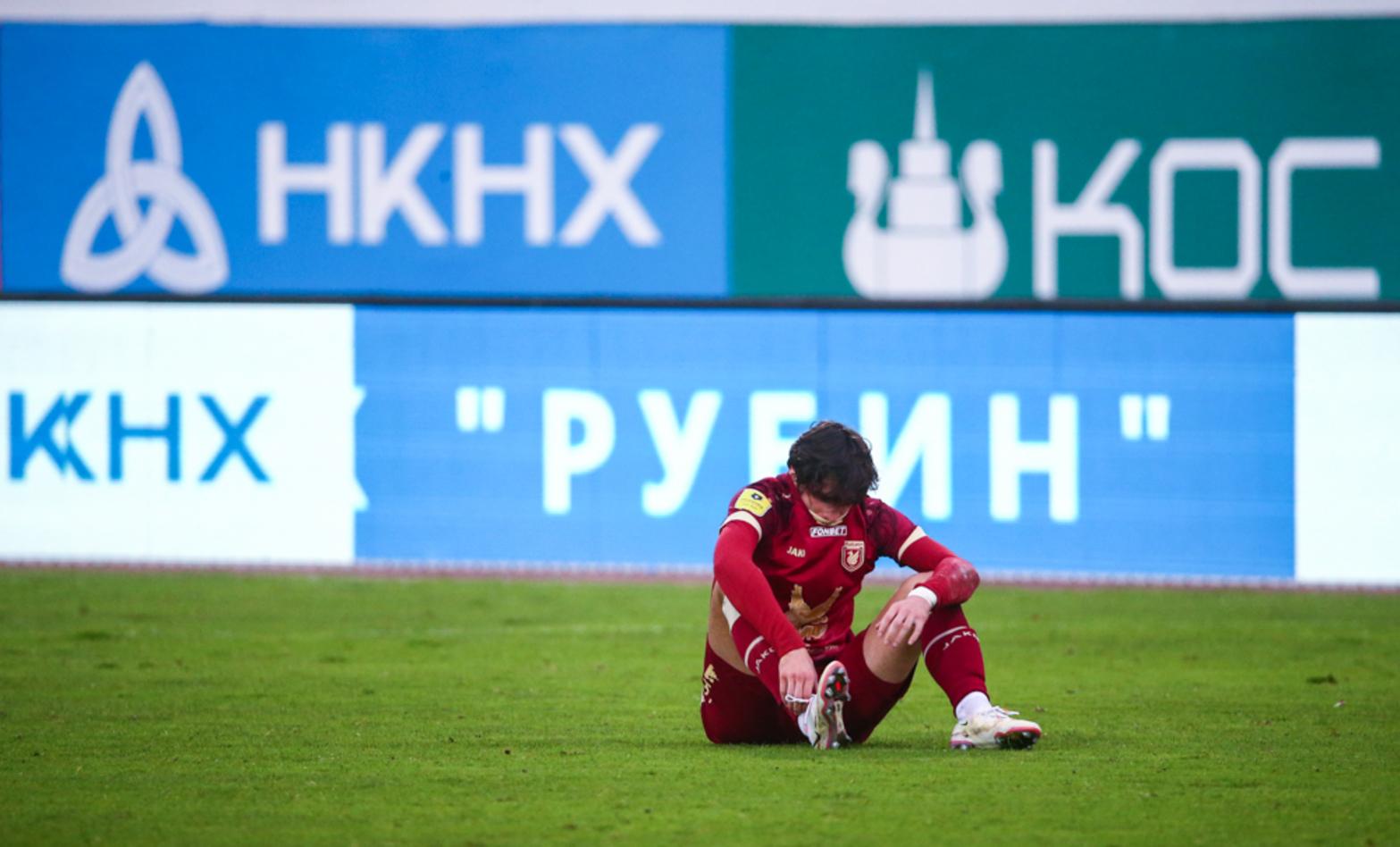 У «Рубина» – три поражения подряд. Хвича не забил «Нижнему» пенальти и «бросил весла» (так сказал Дюпин)